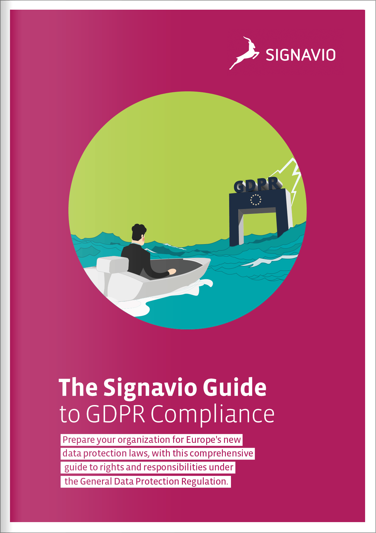 Guide to GDPR Compliance front cover