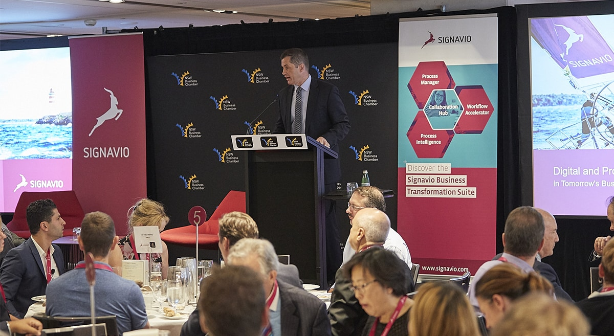 Business Leaders Luncheon - opening speaker
