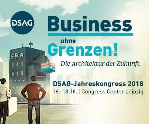 DSAG-Jahreskongress 2018