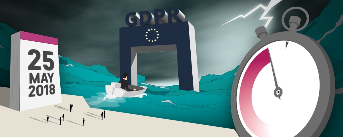 last minute gdpr - clock boat and gate