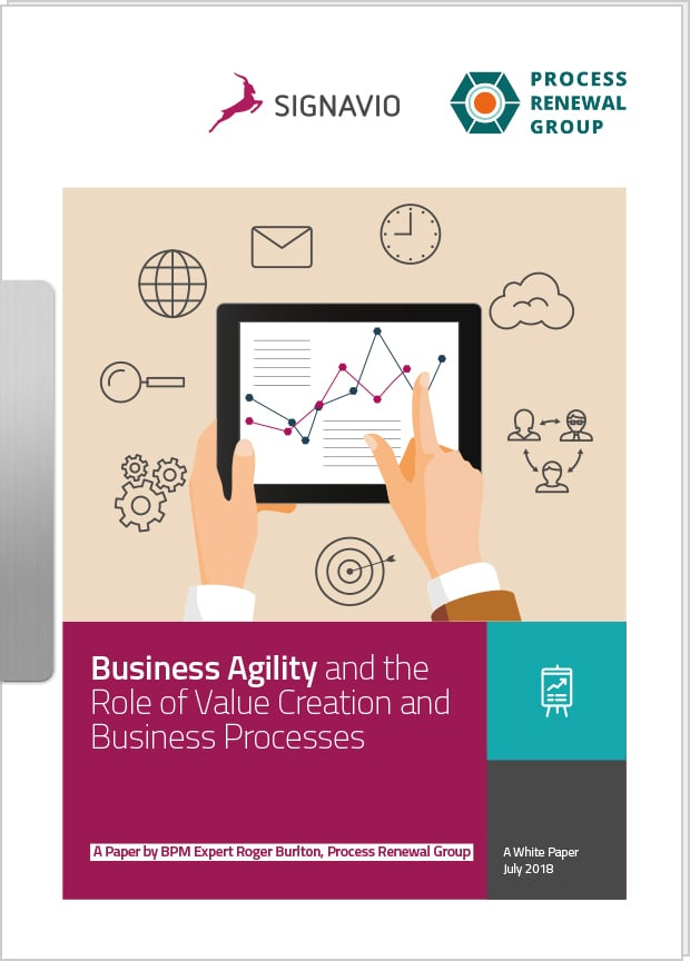 business agility white paper front cover image