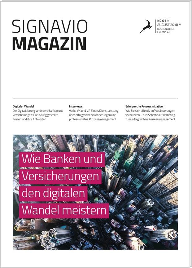 Signavio Magazin: Banken und Versicherungen