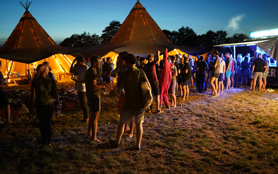 Code Camp 2018 - tent party picture