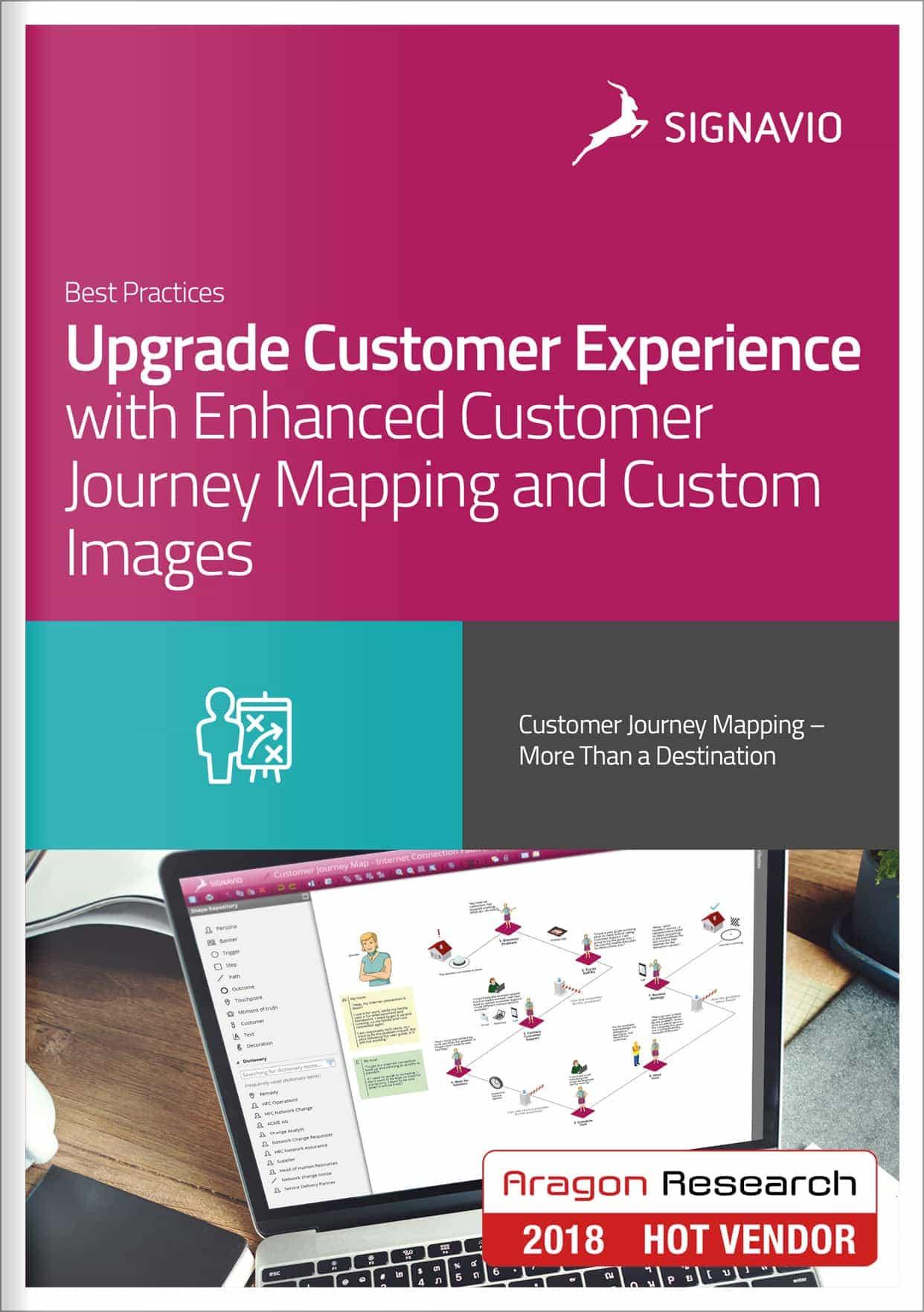 upgrade customer journey mapping