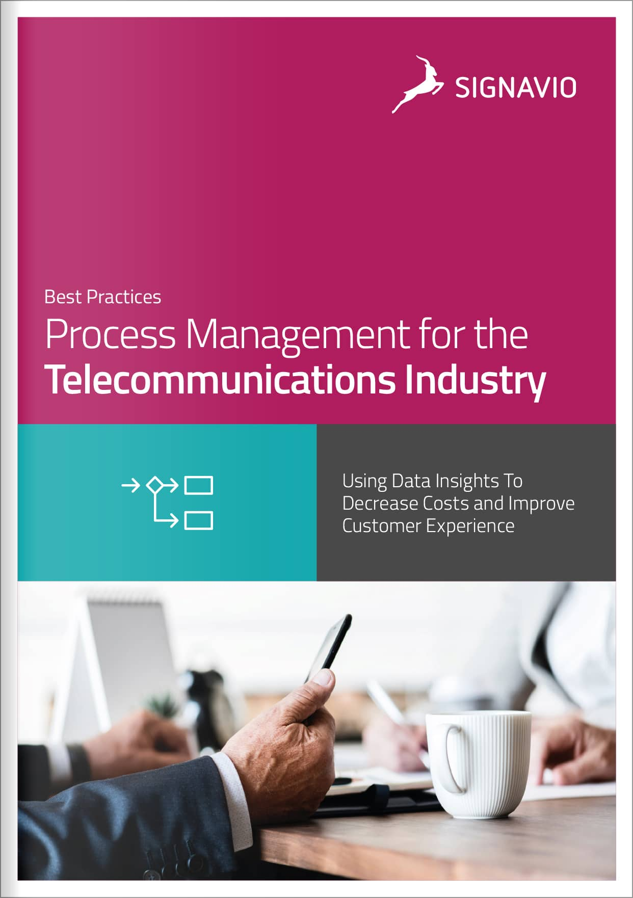 process management telecommunications cover page