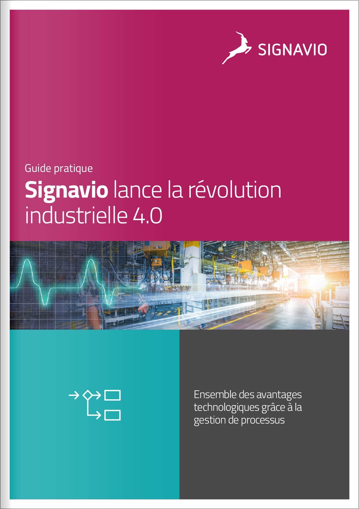 Signavio lance la révolution industrielle 4.0 - Cover image
