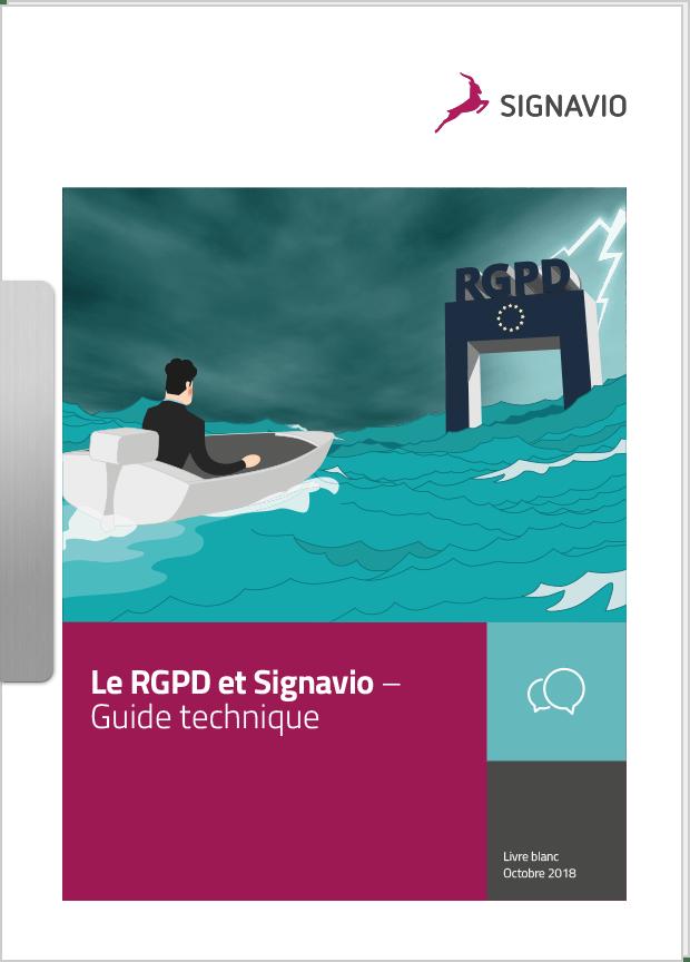 Le RGPD et Signavio