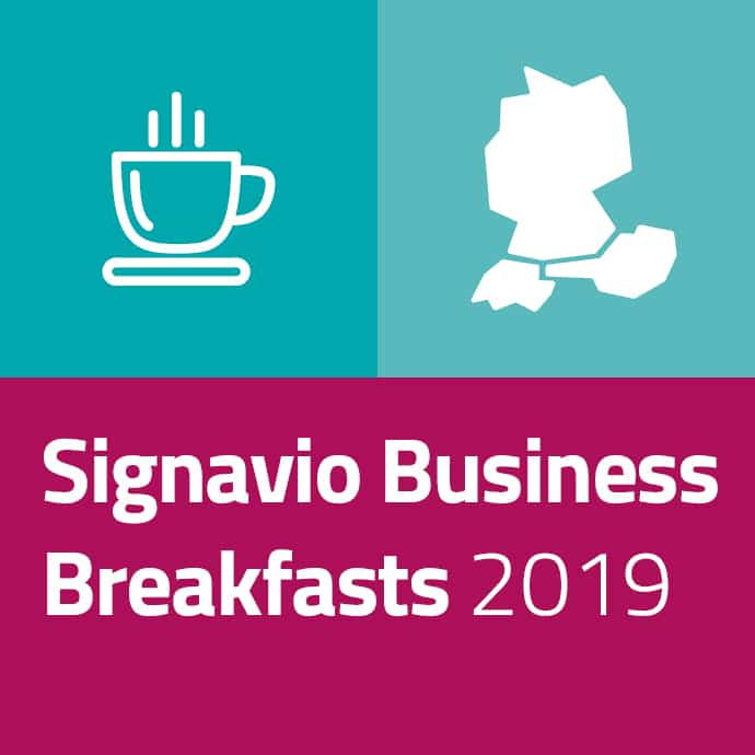 Signavio Business Breakfasts 2019