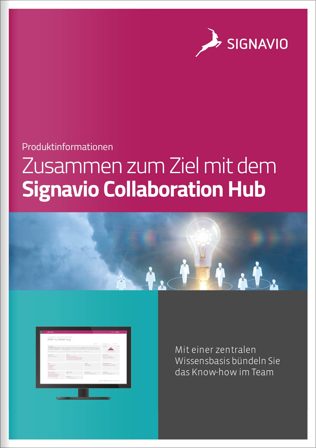 Gemeinsam zum Ziel mit dem Signavio Collaboration Hub