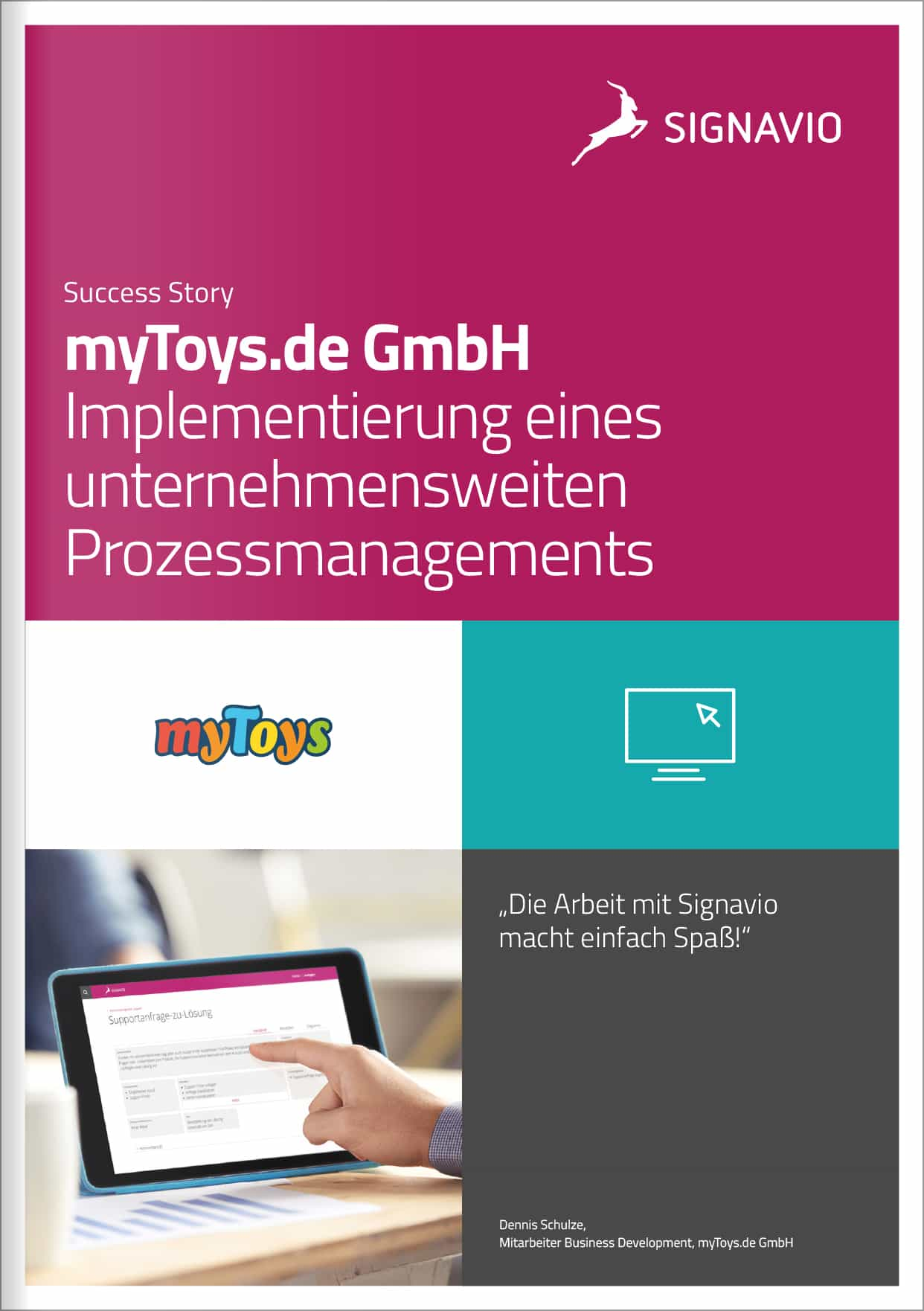 Success Story myToys.de GmbH