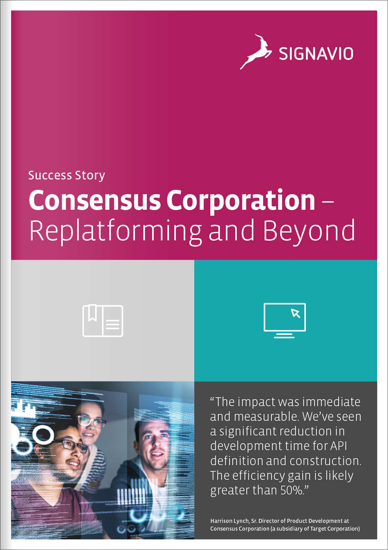 Consensus Corporation Success Story cover image