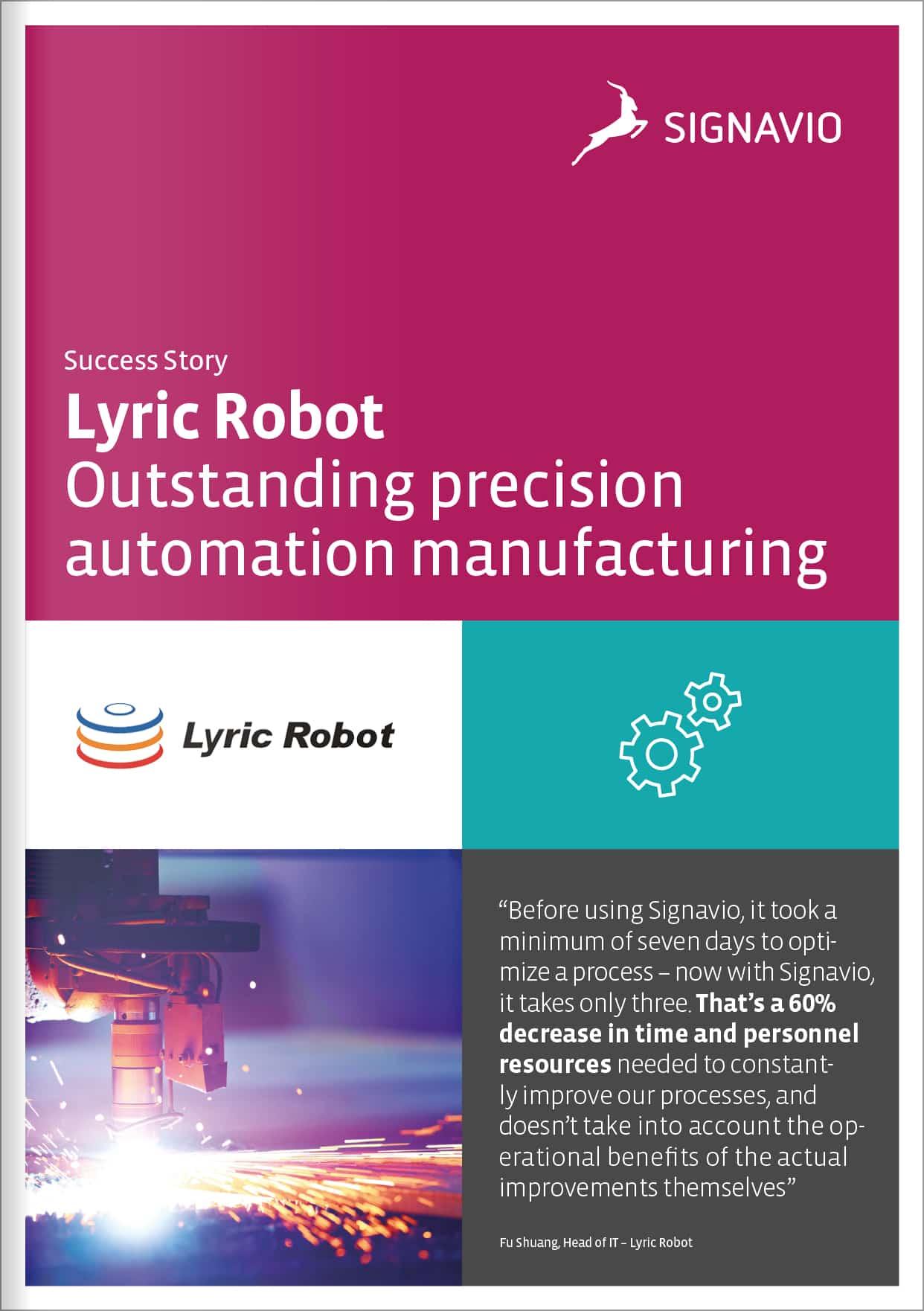 Lyric Robot - Customer Success