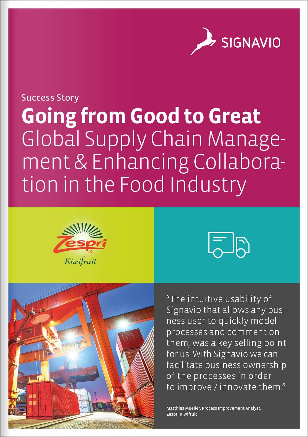Zespri - APAC Customer Success