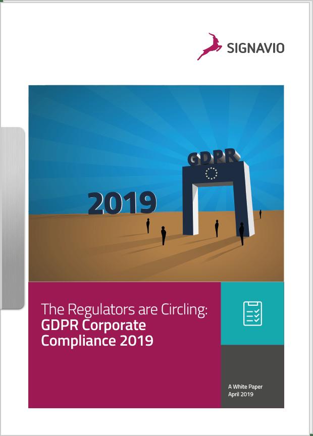 GDPR Corporate Compliance 2019