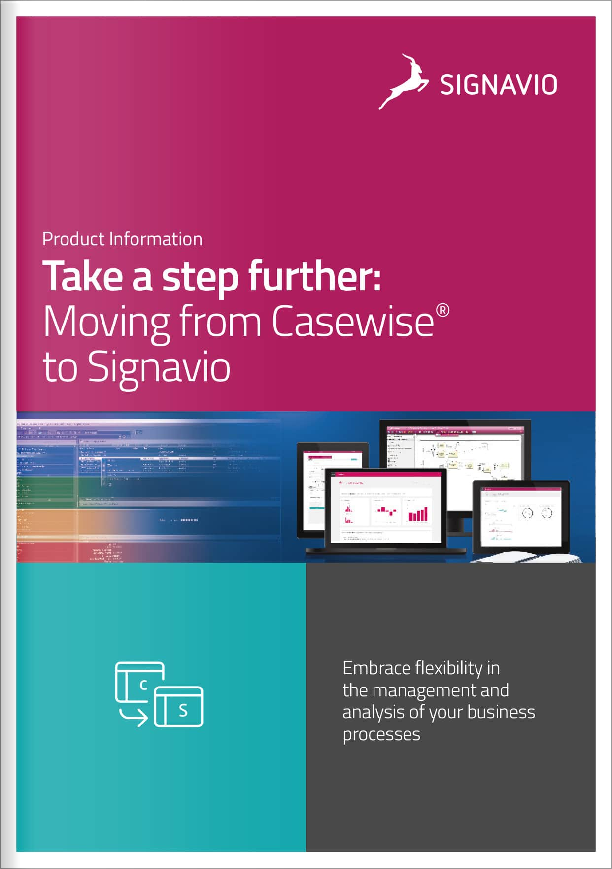 front cover image Moving from Casewise® to Signavio