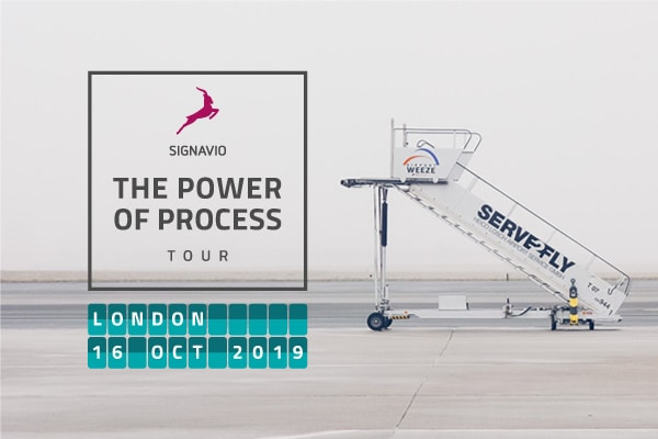 The Power of Process Tour - Cover - London