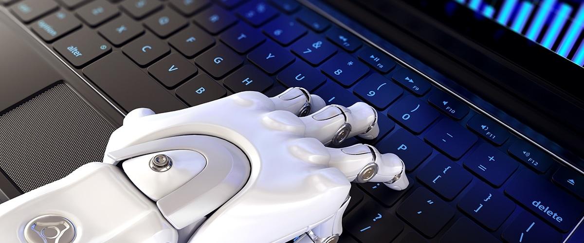 main robot clavier