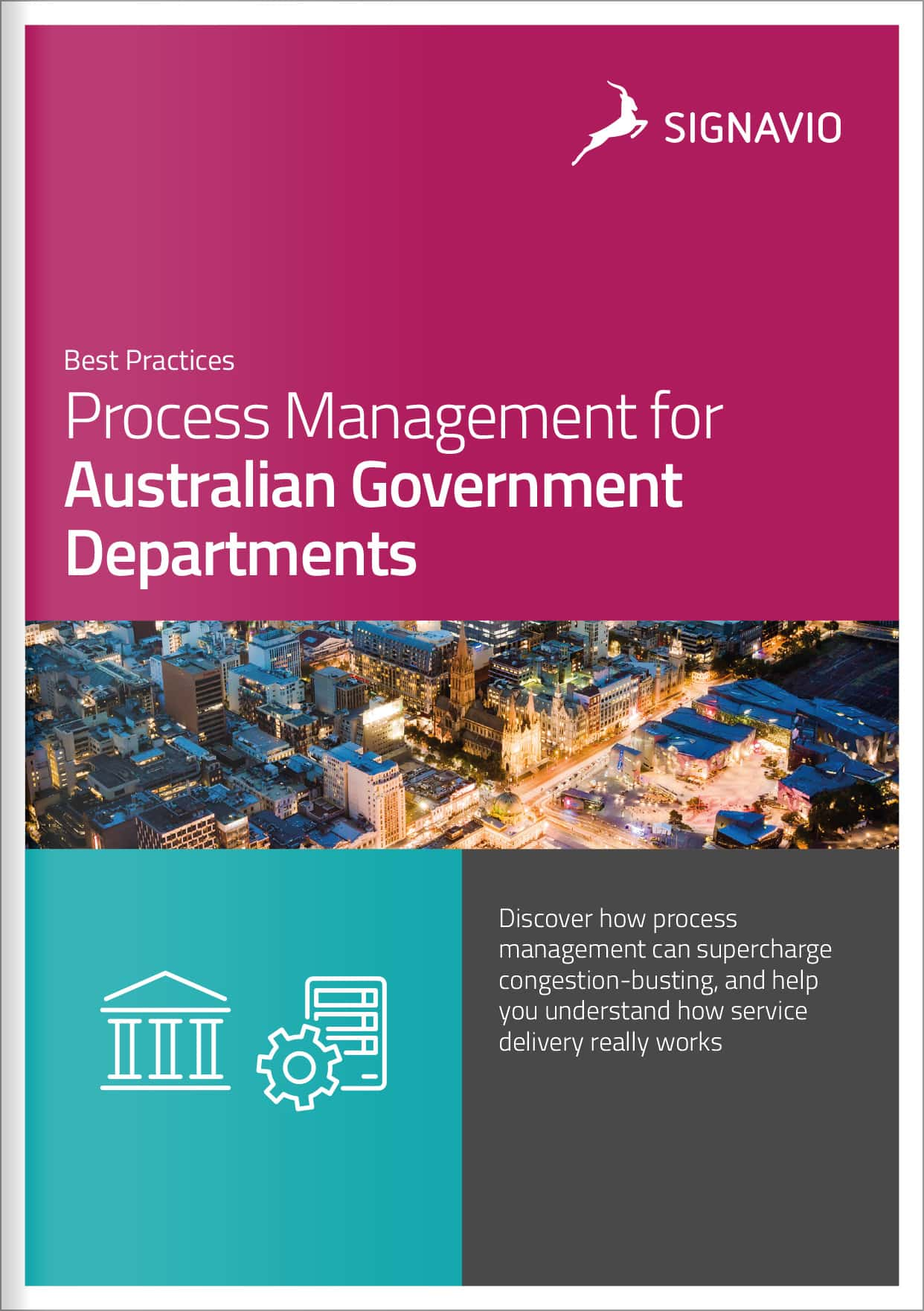 front cover image process management for Australian government departments