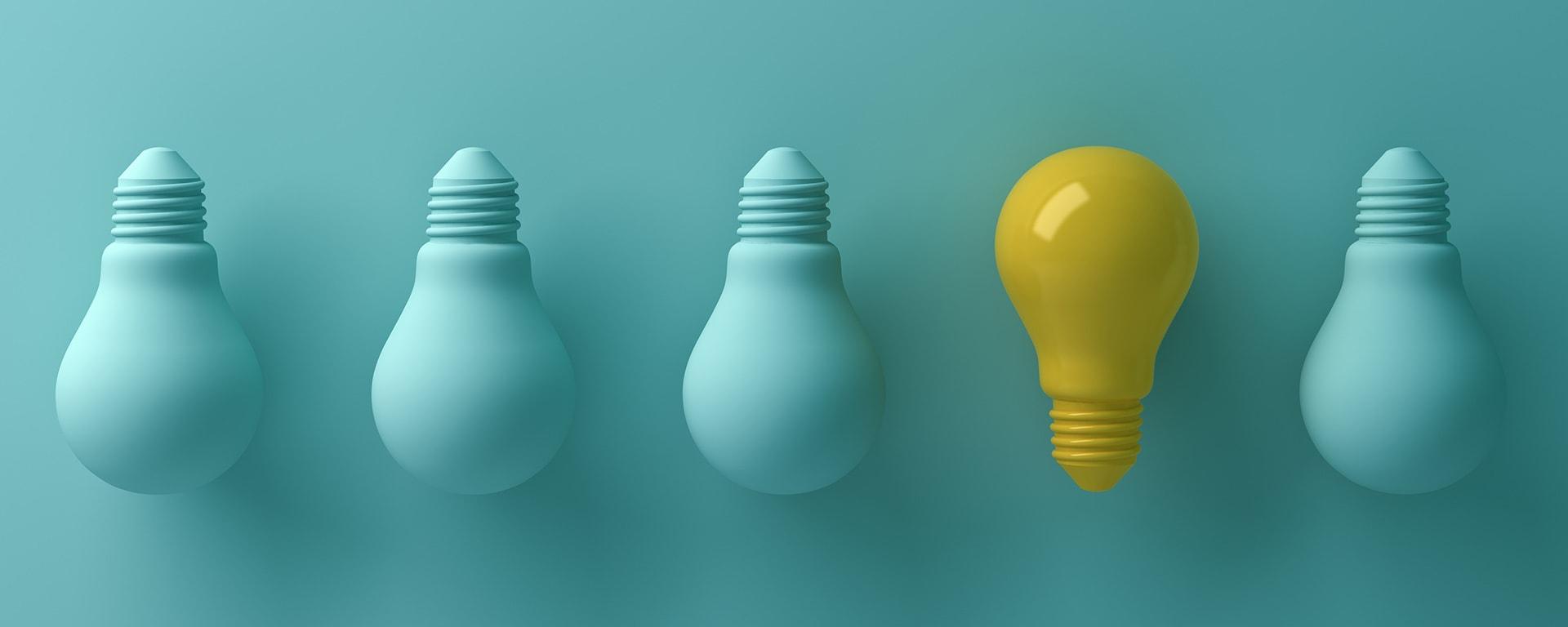 tactics for achieving bpm buy-in header image - lightbulbs