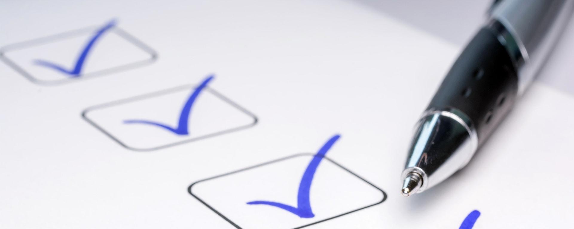 Successful quality management blog checklist image