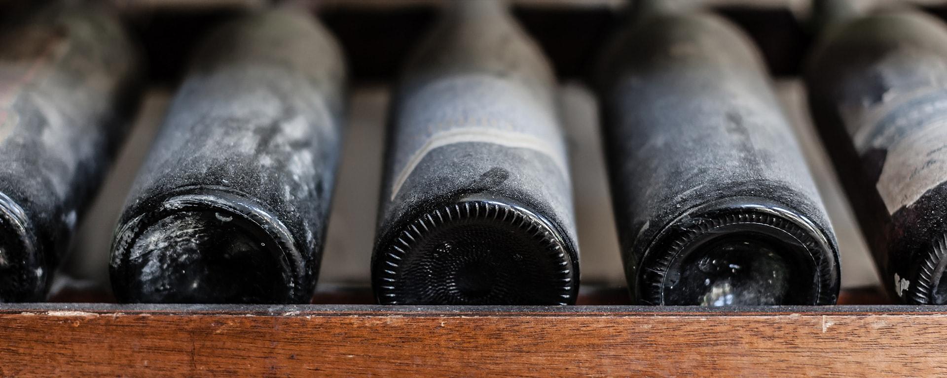 Assessing BPM maturity - dusty wine bottle
