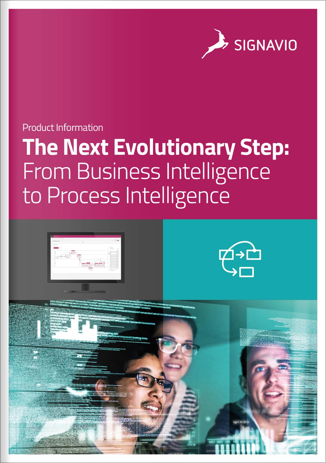business intelligence to process intelligence cover page image
