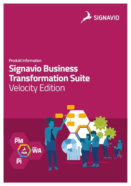 Signavio Business Transfoformation Suite Produktinformation