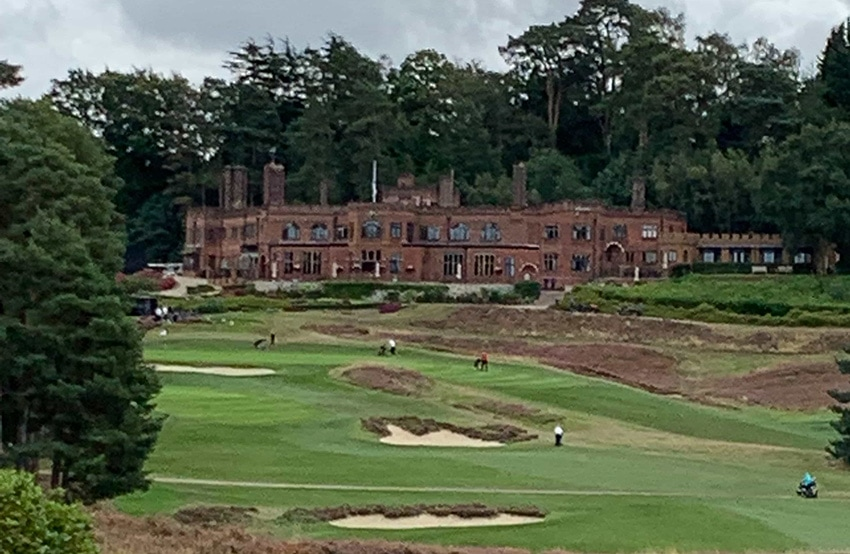 blue prism charity golf day blog - photo of gold course