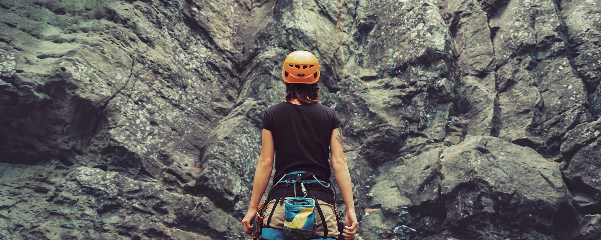risk management using an ics - rock climber