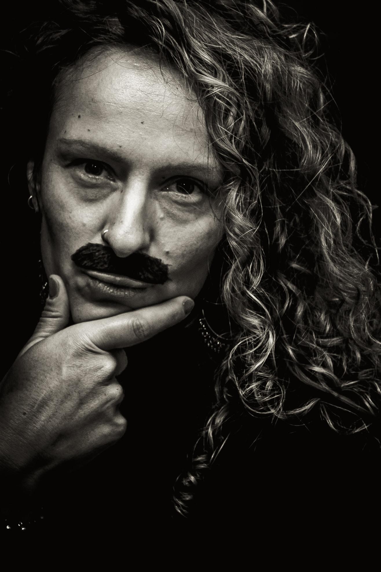 Movember with Signavio portrait - Julia