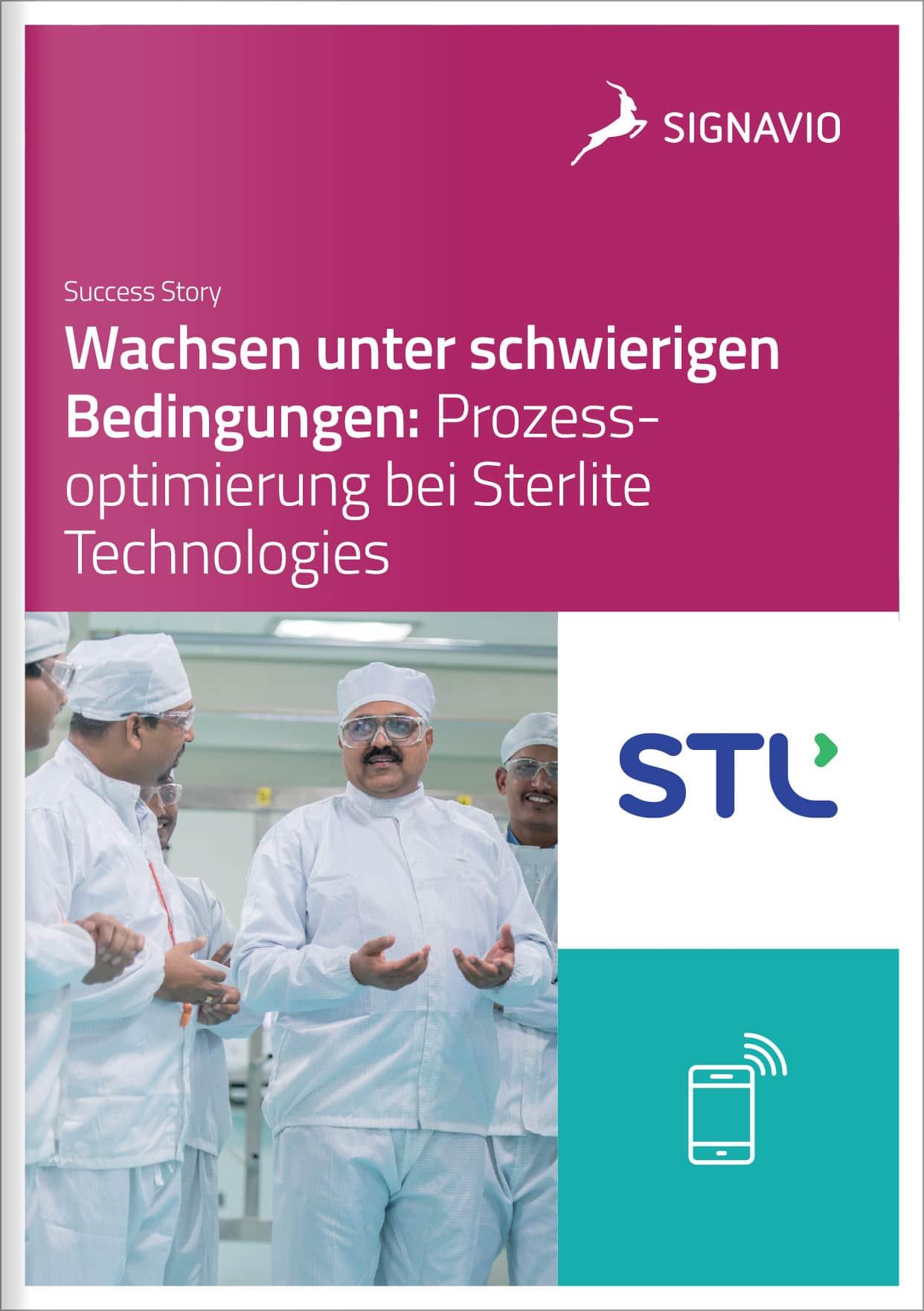 Sterlite Technologies Customer Success Story Front Coverbild