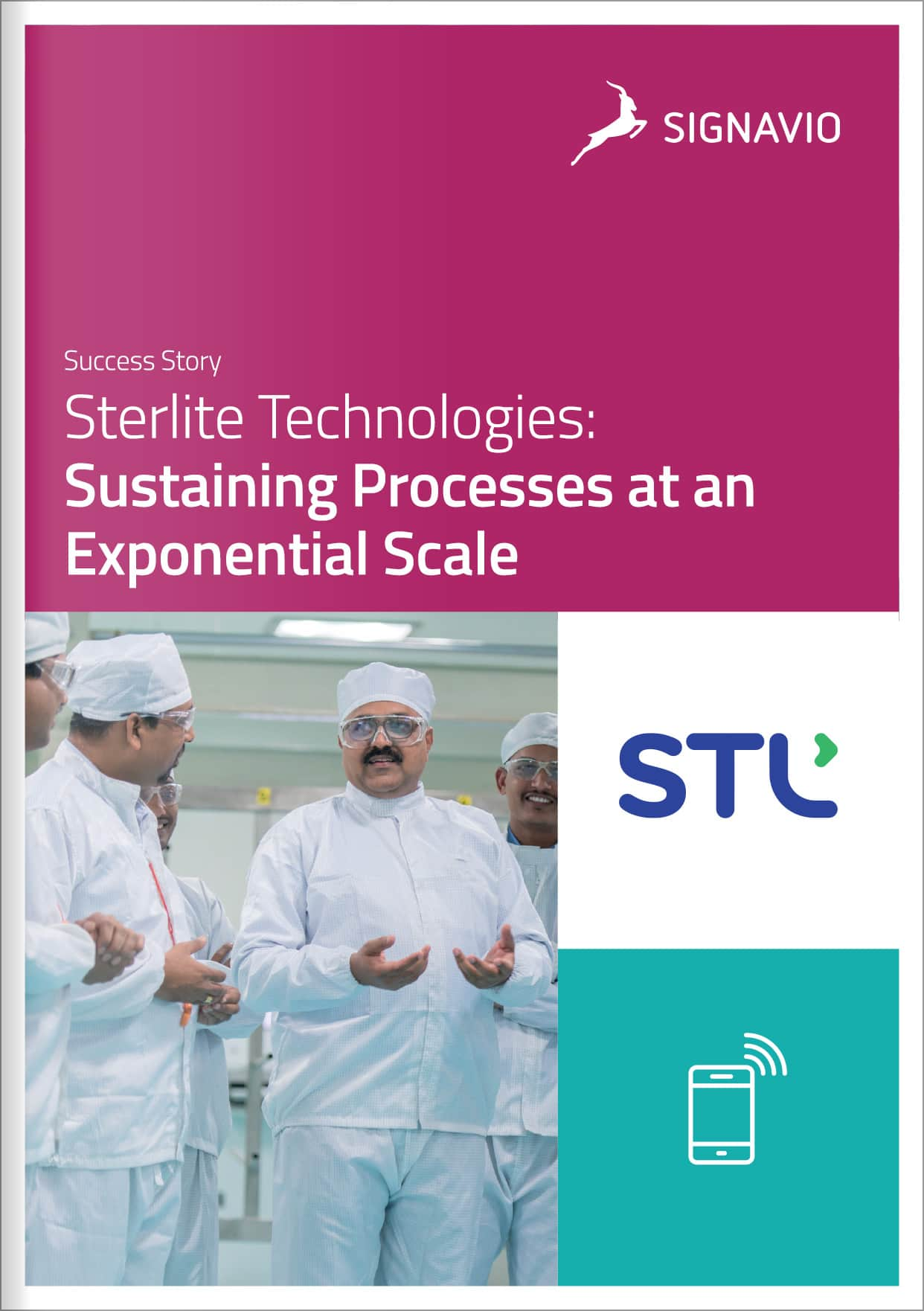 Sterlite Technologies customer success story front cover image