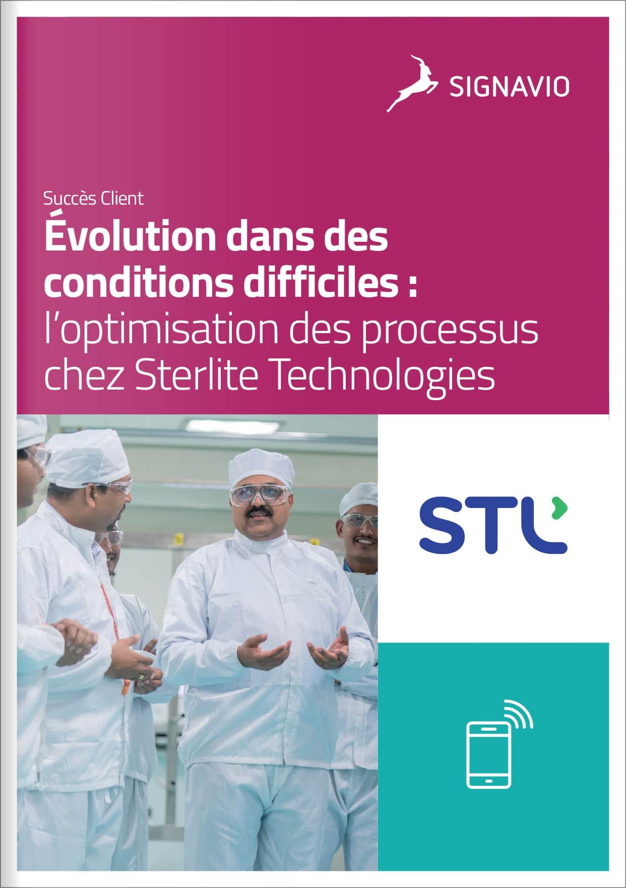 Sterlite - Optimisation des processus dans des conditions difficiles