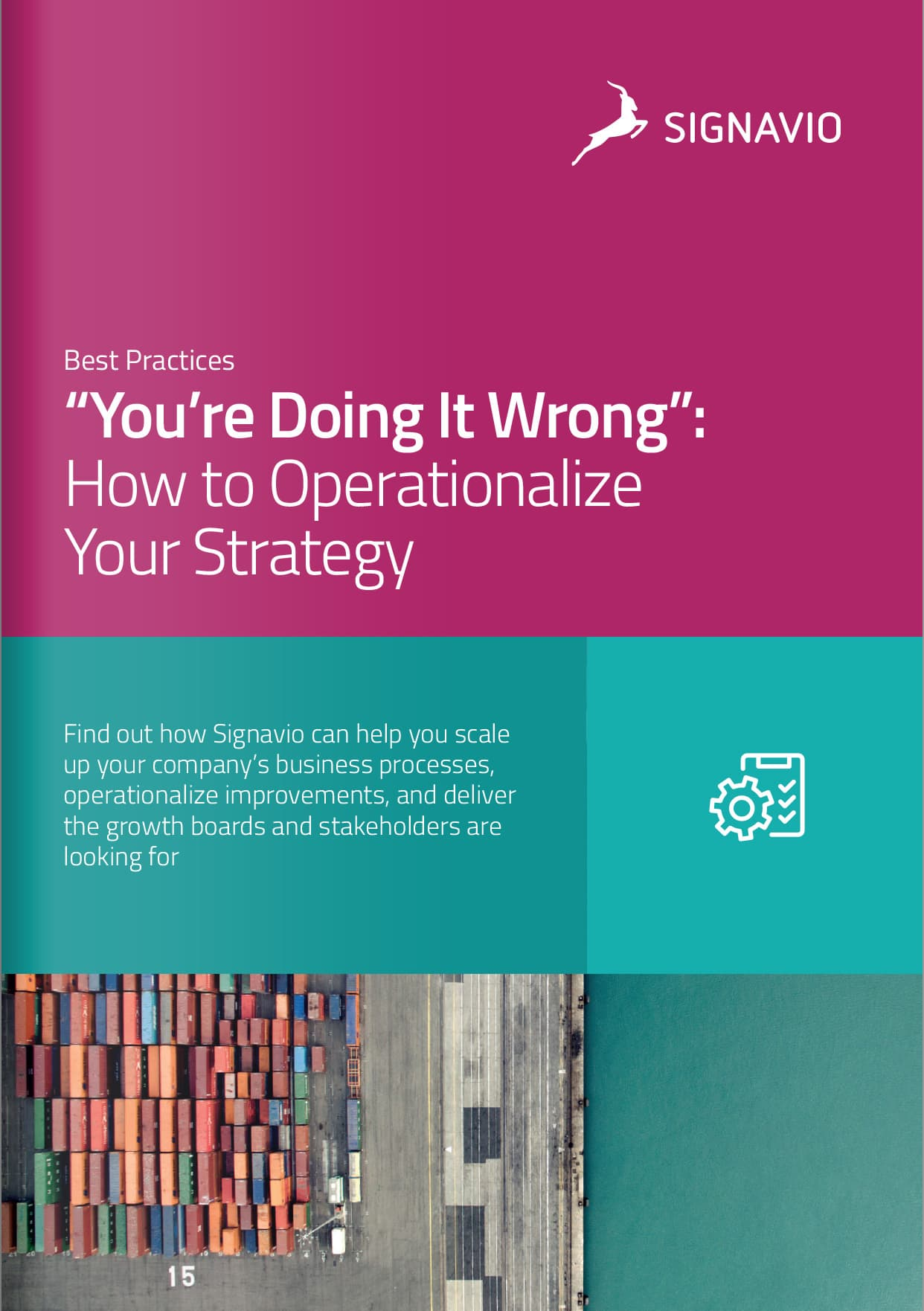 Operationalize Your Strategy cover image