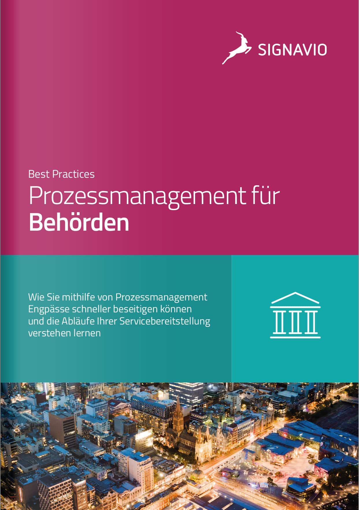 Prozessmanagement für Behörden_Best Practices_Titelbild