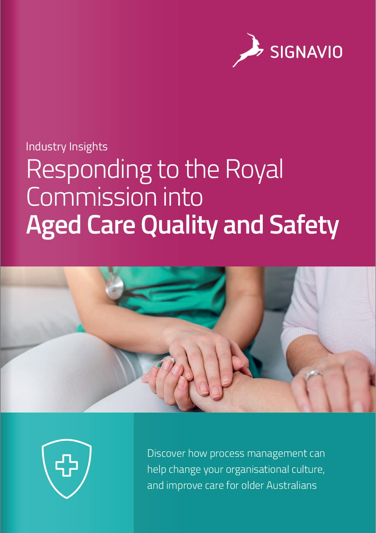Aged Care Royal Commission cover page