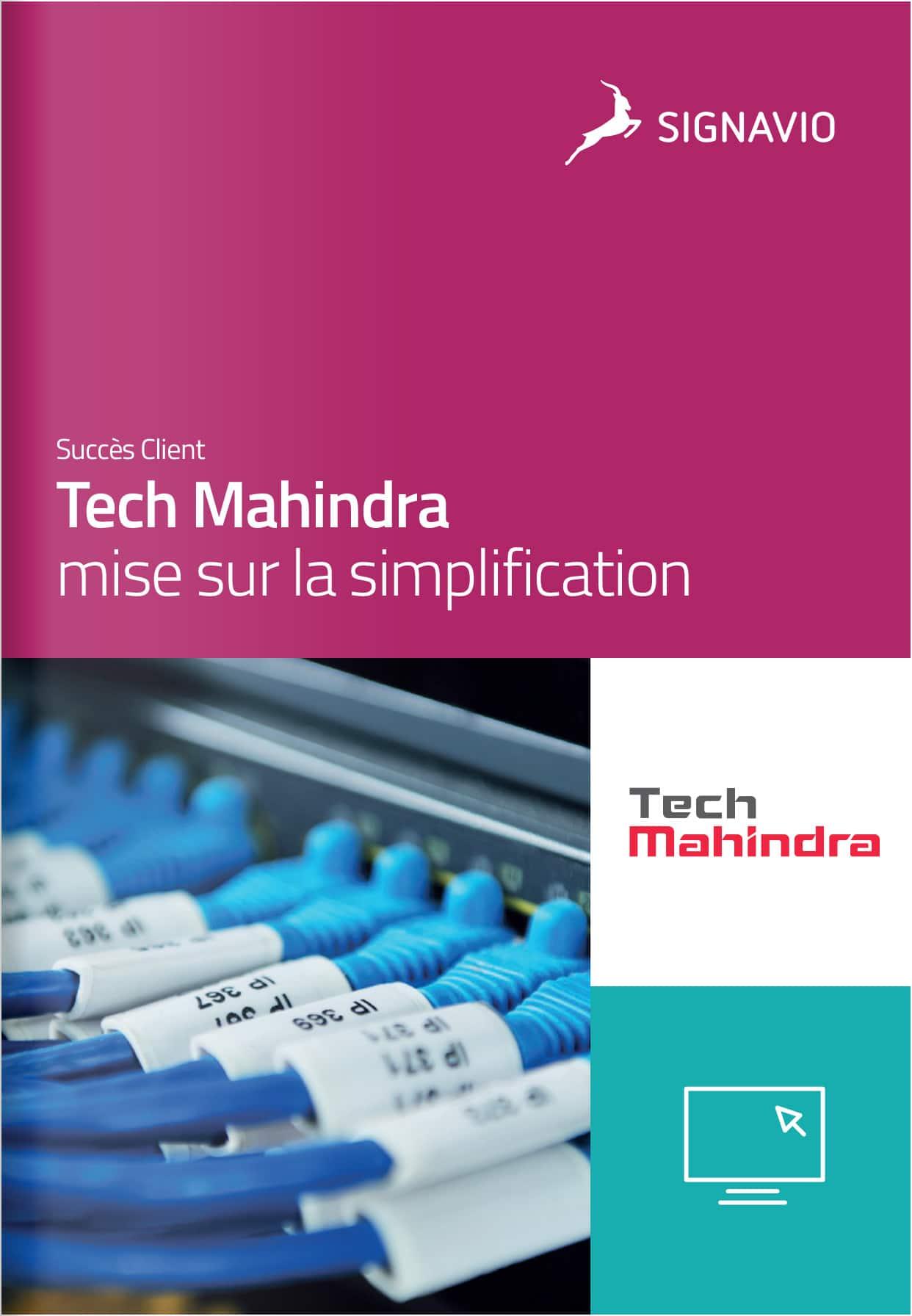 Tech Mahindra mise sur la simplification
