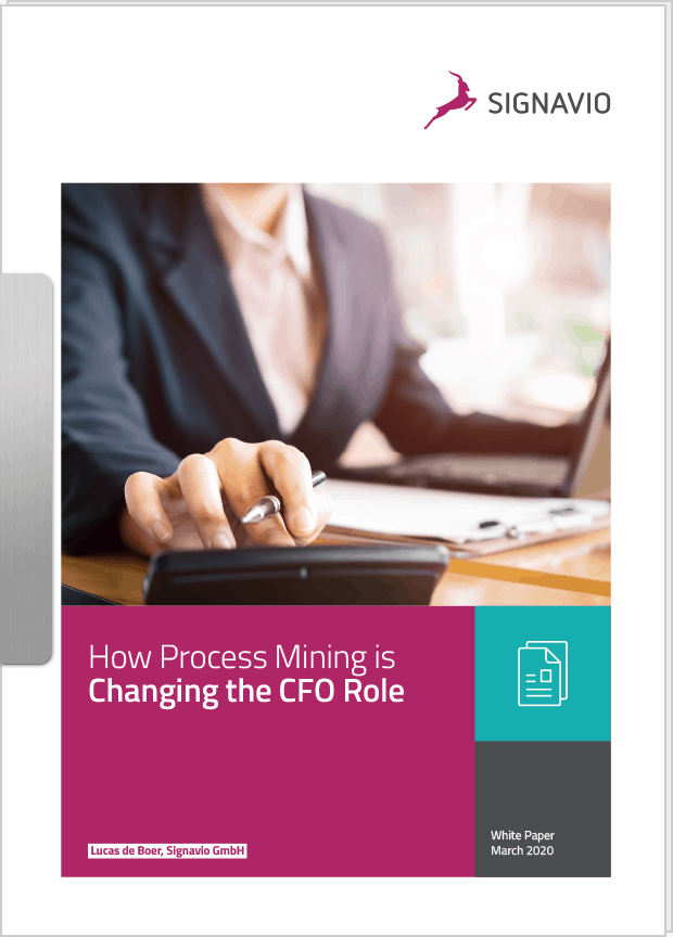 Front cover image CFO and process mining white paper