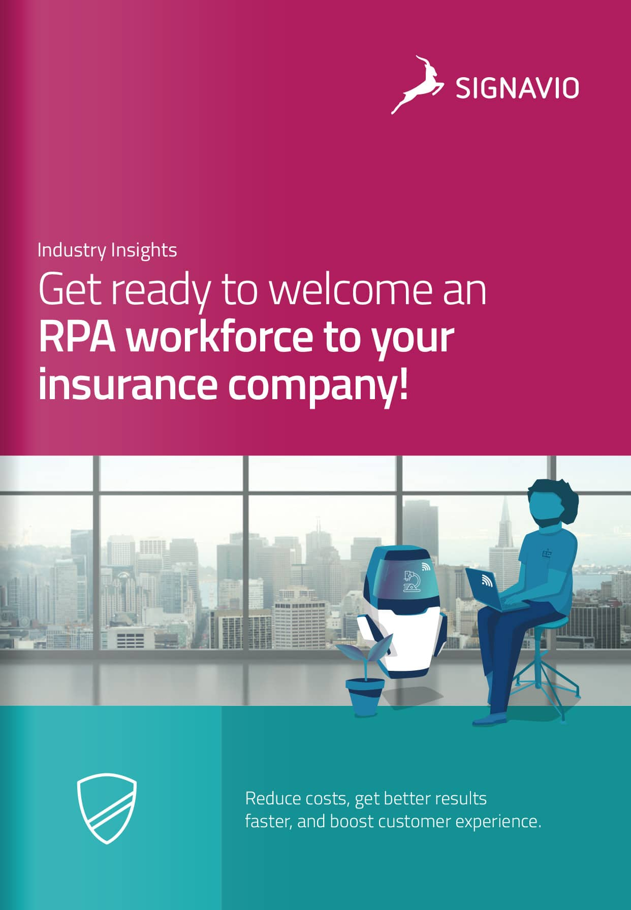 Get ready to welcome an RPA workforce to your insurance company!
