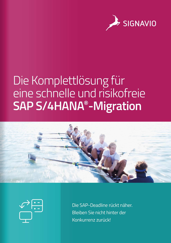 Signavio und SAP S/4HANA_Broschüre_Titelbild