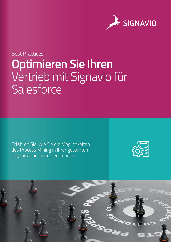 Optimieren Sie Ihren Vertrieb mit Signavio Process Intelligence für Salesforce_Titelbild_Broschüre