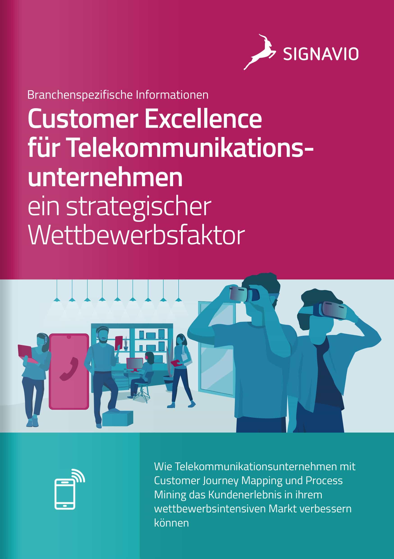 Titelbild Customer Excellence für Telekommunikationsunternehmen