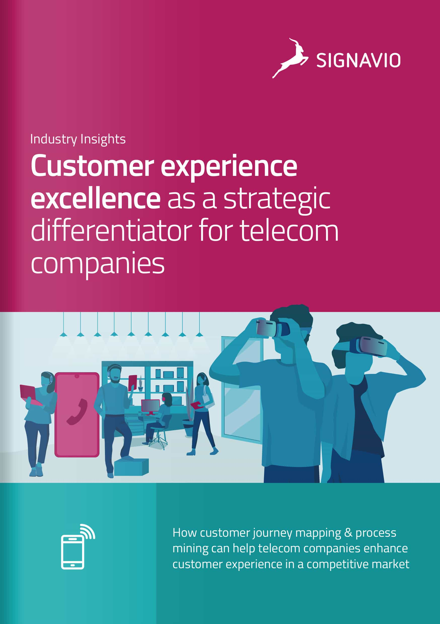 front cover image customer excellence telecommunications