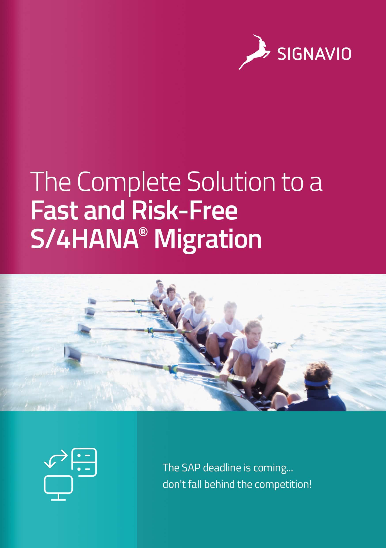 Signavi-S/4HANA-Migration