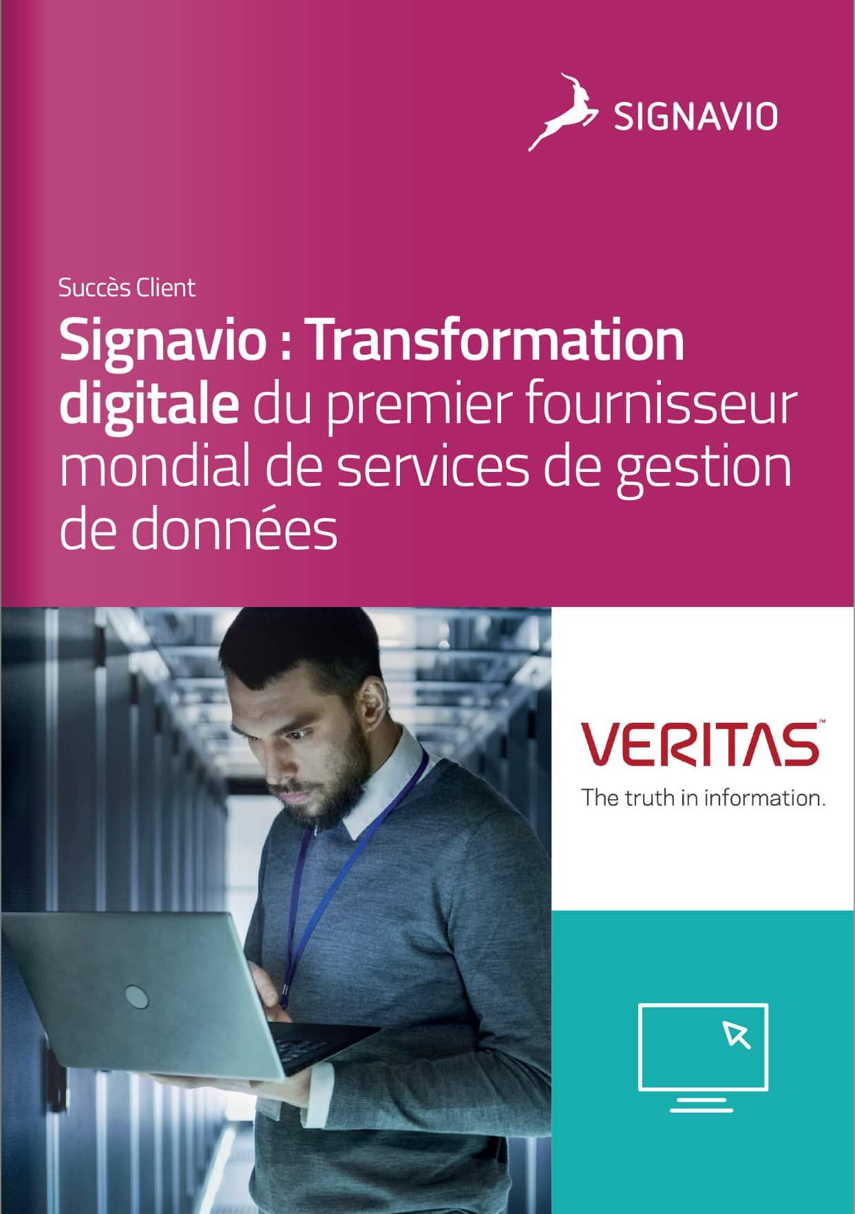 Signavio : Transformation digitale du premier fournisseur mondial de services de gestion de données
