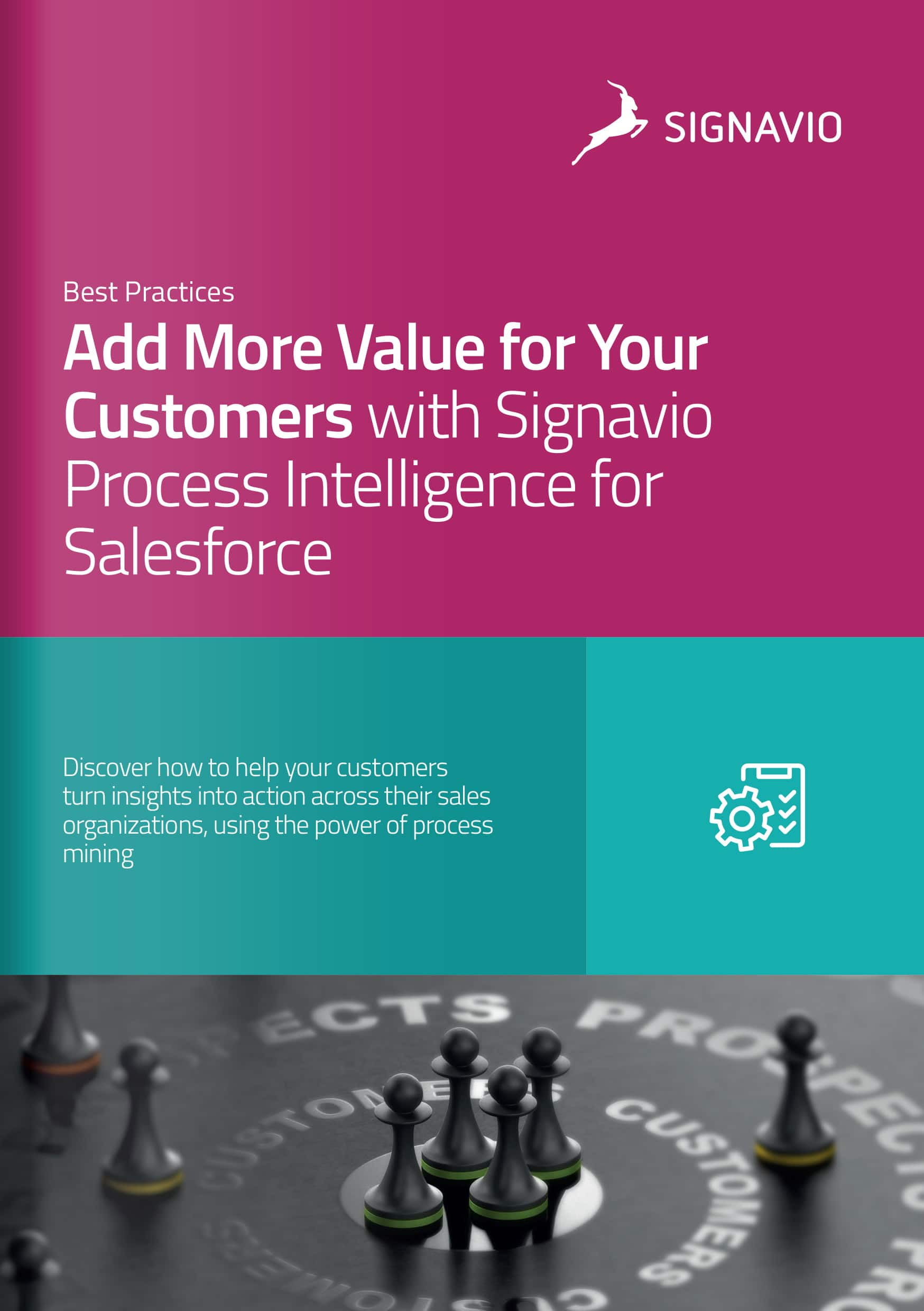 Cover image Signavio Process Intelligence for Salesforce partner resource