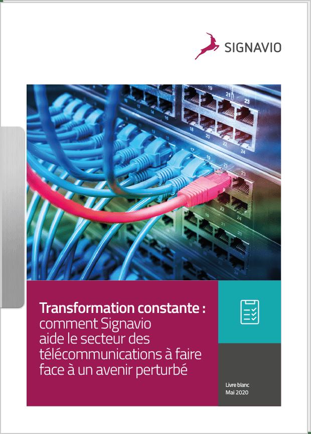 Transformation constante : comment Signavio aide le secteur des télécommunications à faire face à un avenir perturbé