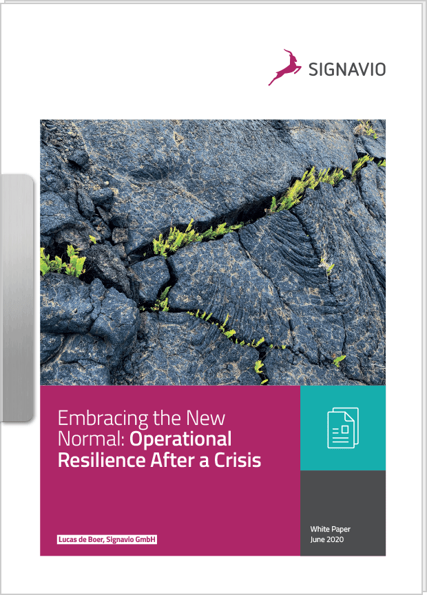 operational resilience white paper cover image