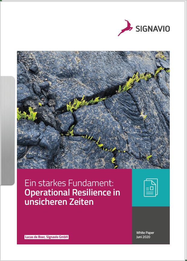 Operational Resilience in unsicheren Zeiten_Whitepaper_Titelbild
