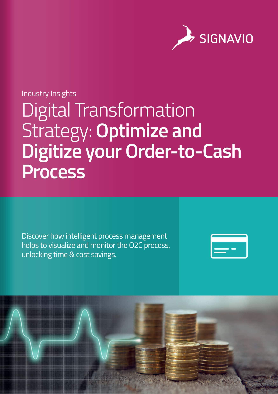 C-Level, Optimize & Digitize your Order-to-Cash Process